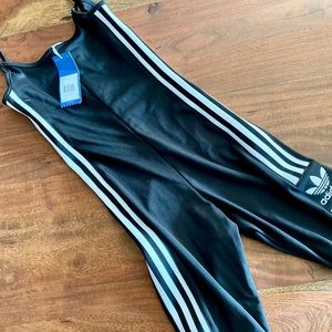 ADIDAS   One-Piece Cycle Suit Yoga Black Womens XS